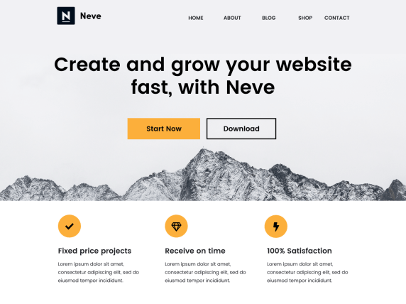 Best WordPress Theme Neve